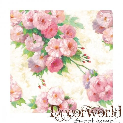 d5715d4daa Ambiente szalvéta 33x33cm 20db/csom. Arianna Cream - Decorworld - A ...